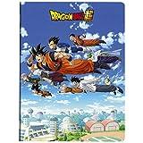 Clairefontaine 812798C - Un cahier Piqué Dragon Ball Super 48 page 24x32cm 90g grands carreaux, couverture visuel aléatoire
