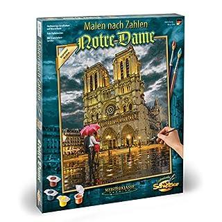 Schipper 609130817 Malen nach Zahlen-Notre Dame, 40 x 50 cm