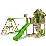 FATMOOSE Torre da gioco HappyHome Hot XXL Casetta su palafitte Casa...