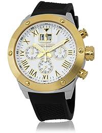 Herzog & Söhne Herren-Armbanduhr XL Analog Quarz Silikon HS313-282