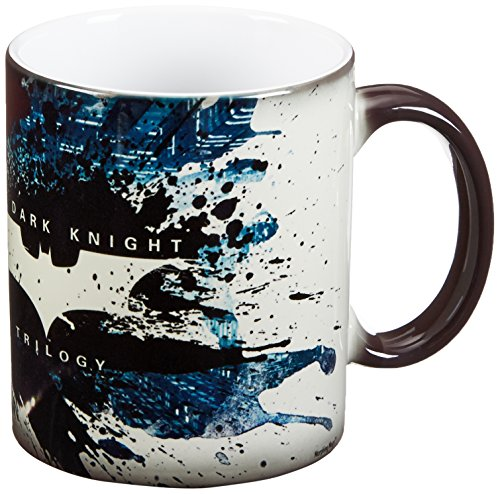 Morphing Mugs Batman Dark Knight Trilogy (Bane) Ceramic Mug, Black by Morphing Mugs