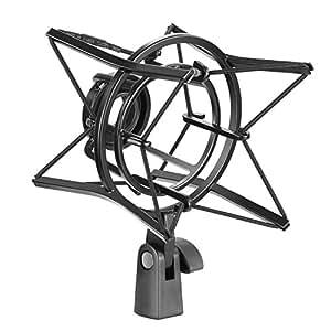 neewer support antichoc de microphone suspension anti vibration isolation elev e en m tal. Black Bedroom Furniture Sets. Home Design Ideas