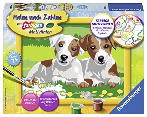 Malen & Zeichnen-Sets für Kinder Mal- & Zeichenmaterialien für Kinder Majestätischer Tiger Spiel Deutsch 2017 Malen nach Zahlen