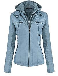 a26d38e5839c Suchergebnis auf Amazon.de für: Kunstleder Blazer - Blau: Bekleidung