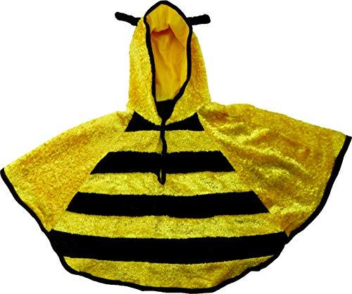 Kostüm Wolf Schaf Im - Evil Wear Kinder Kostüme Fasching Umhang Karneval Umhänge Verkleidung 3-7 Jahre: Farbe: Biene