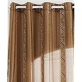 x visillos cortinas translcidas de doble confeccin gasa forro cosido con