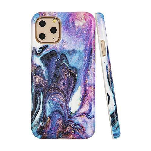 SunshineCases【Kompatibel: Apple iPhone 11 Pro】 schlanke, volle Hülle, süße Schutzhülle für Frauen und Mädchen, Outer Space Nebula Galaxy