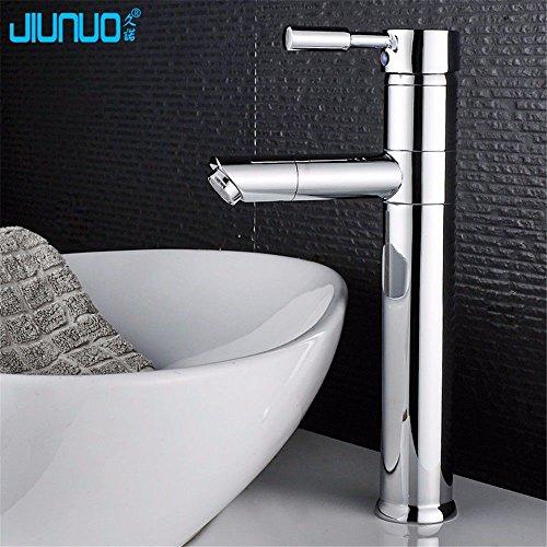 YSRBath Moderne Waschbecken Waschtischarmatur Antike Kupfer Töpfe 360 Grad Heiß und Kalt Mischbatterie Bad Küche Wasserhahn Badarmatur