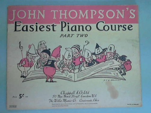 John Thompson's Easiest Piano Course: First Christmas Tunes by Various ( 1900 ) Paperback