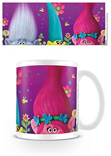 Trolls Kaffeetassen, Keramik, Mehrfarbig, 7.9 x 11 x 9.3 cm