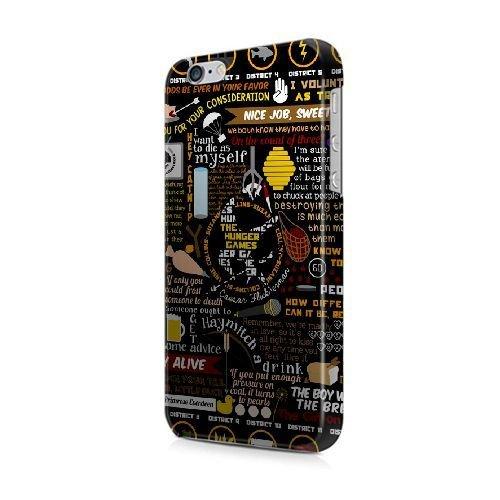 BRAUCH iphone 5c Hülle [GJJFHAGJ68079][THE HUNGER GAMES THEMA] Hartplastik -Snap-On 3D Hülle für iphone 5c Hunger Snap