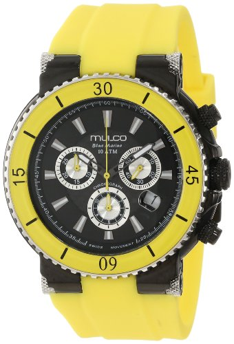 MULCO MEN'S & WOMEN'S 47MM CHRONOGRAPH DATE WATCH MW3-70603-099