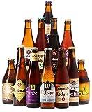 Assortiment de bières - Idée cadeau - Découverte de la bière - Dégustation (Assortiment 12 bières les meilleures trappistes)