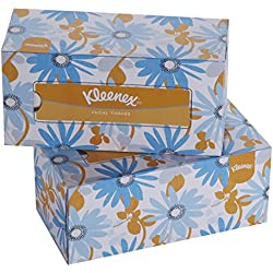 Kleenex Facial Tissue Box, 200 Sheets per Box , 2 Ply, 2 Box Combo, 60037 by Kimberly-Clark