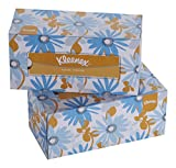 #2: Kleenex Facial Tissue Box, 200 Sheets per Box , 2 Box Combo, 60037 by Kimberly-Clark
