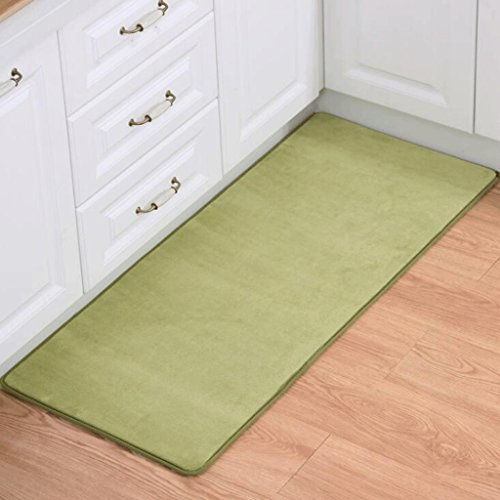 PRIDE S Green Living Room Chambre Table basse Tapis Rectangulaire Coral Velvet Mats ( taille : 100*100cm )