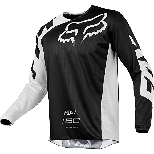 FOX Jersey Junior 180 Race, Black, Größe YL