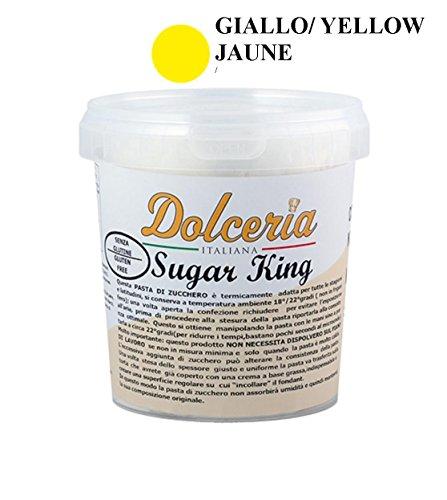 Pasta di Zucchero 1 KG - GIALLO