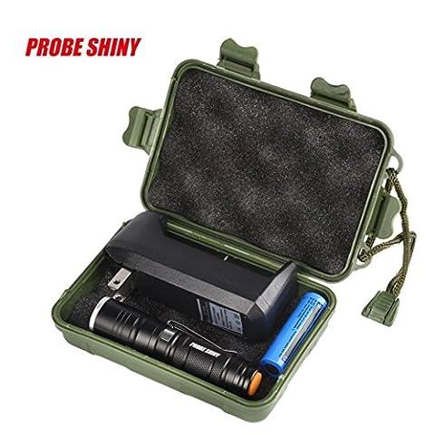 Sansee Multi Funktions-Mini-Zoom-Clip Taschenlampe Einfache Coveient Struktur nehmen Platz PROBE SHINY Multifunktions-Mini-Taschenlampe Set