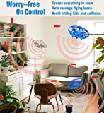 POWERbeast Kid and Boy Toys,Drones for Kids Mini Quadcopter Drone,Hands Free Hover Drone w/ 3 Micro Drone Sensors for Autopilot for Beginner Drones Flying Toys with 2 Speed Model,Fan Toy for Children Family