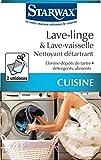 STARWAX Nettoyant Détartrant Lave Linge & Lave Vaisselle