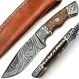 PAL 2000 9568 Couteau en Acier Damas Fait Main...
