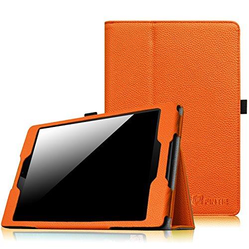 Fintie HTC Nexus 9 Folio Hülle Case - Slim Fit Kunstleder Schutzhülle Tasche Etui Cover mit Standfunktion und [Auto Sleep/Wake] Funktion for HTC Nexus 9 (8,9 Zoll) Tablet-PC by Google, Orange