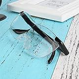 LABAICAI 1pcs Vision 250% Unisex Vergr��erungsglas Vergr��erung Presbyopic TV Clearer Brillen Lupe Brille for Reparatur-Werkzeug Lesen (Color : A)