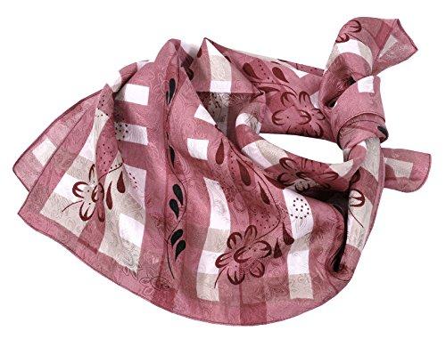 Moschen-Bayern Moschen-Bayern Damen Herren Trachtentuch Halstuch Trachten Trachtenhalstuch Seide Rosa