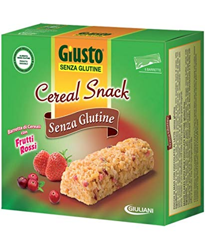 Giusto Cereal Snack Fr/Ros 150G