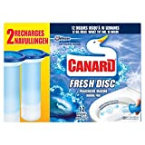 Ente WC Fresh Disc Reiniger Frische Marineblau 12Scheiben (2x 36ml)–Lot de 2