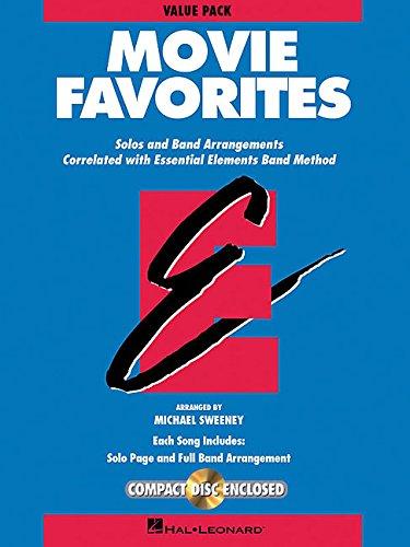 Essential Elements Movie Favorites: Value Pak (37 Part Books, Conductor Score & CD) -