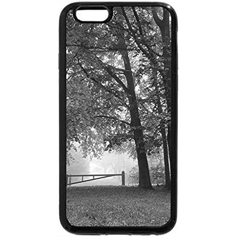 iPhone 6S Plus Funda, iPhone 6Plus (Blanco y Negro)–La leyenda de la caída