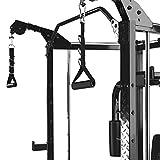 MARCY Unisex– Erwachsene Luxus Heim-Gym Smith-Maschine Kraftstation, Schwarz, One Size - 5