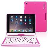 Snugg iPad Mini 5 & 4 Keyboard, [Pink] Wireless Bluetooth Keyboard Case Cover