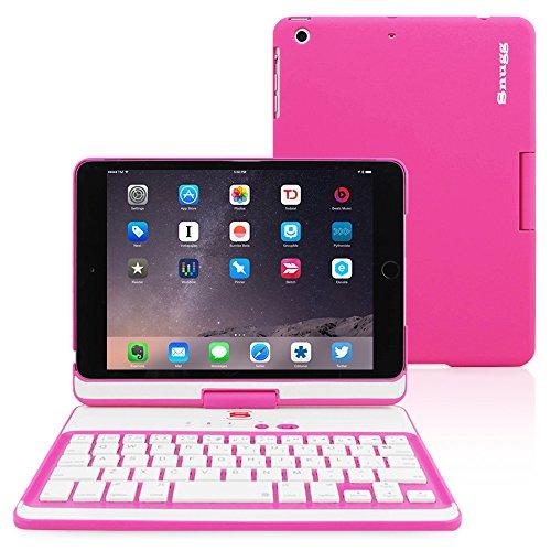 Snugg Tastatur für iPad Mini 4 [Rosa]