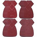 40 hojas de lija de rat/ón 10 unidades cada uno surtido. 120 para adaptarse a lijadora de palma negra y decker 80 todos los grados de grano mixto paquete de 40 60