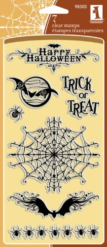 Inkadinkado Creepy crawly Halloween CLEAR - Halloween Creepy Crawly