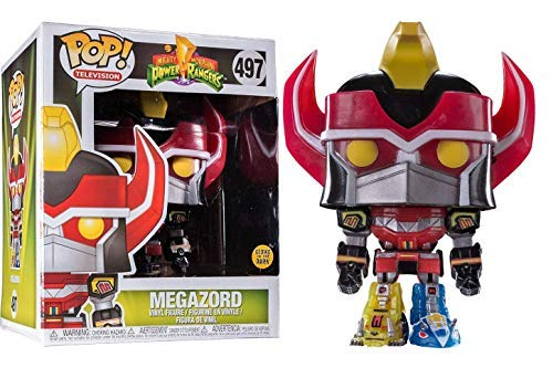Power Rangers Megazord (Oversized) (Glow in The Dark) Vinyl Figure 497 Funko Pop! Standard (Power Rangers-film-edition)