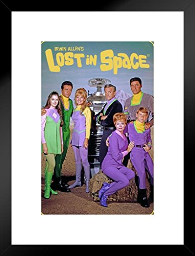 Poster Gießerei Lost in Space Cast Foto TV Show von proframes 20x26 inches Matted Framed Poster