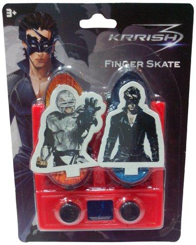 Impulse Krrish Live Mini Skate Board, Red