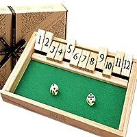 Shut-The-Box-Spiel-12-Numbers-Holzspiele-fr-Erwachsene-Klappbrettspiel Shut The Box Spiel – 12 Numbers Holzspiele für Erwachsene – Klappbrettspiel -