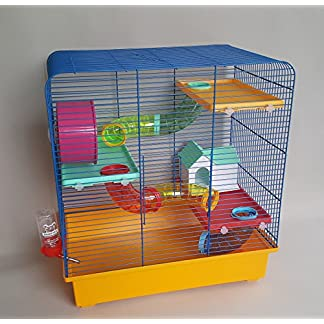Hamster Mice Cage Small Animals Rat 100ml Water Bottle House Tube Wheel Mouse 9