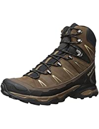 Salomon L37838700 X Ultra Trek Synthetic Hiking Boots, Adult (Black)