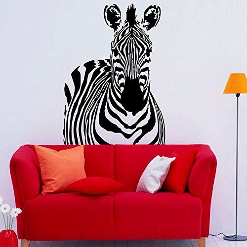 Beste Design Wandkunst Aufkleber Dekoration Zebra Wandtattoo Für Kinder Schlafzimmer Abnehmbare Wat 59 cm X 81 cm
