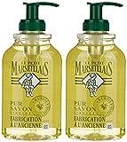 Le Petit Marseillais–Jabón líquido fabricación a la antigua con aceite de oliva–Envase 300ml–Lote de 2