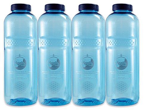 Acala Trinkflaschen Grosses Flaschen Set 1,0 Liter