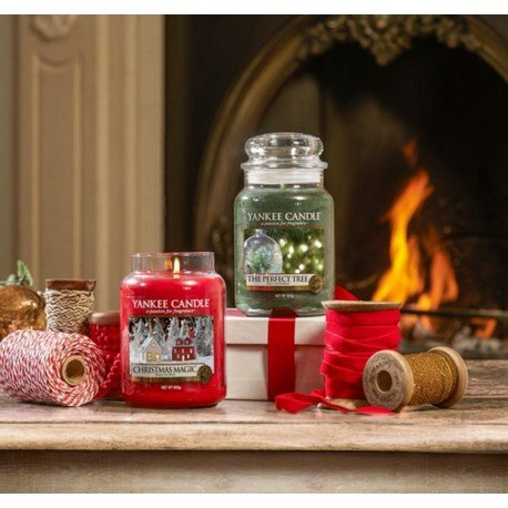Jarre 'Magie de Noël', Yankee Candle