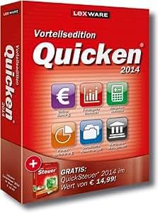 Lexware Quicken 2014 Vorteilsedition- Persönlicher Finanzmanager (Version 21.00) inkl. QuickSteuer 2014