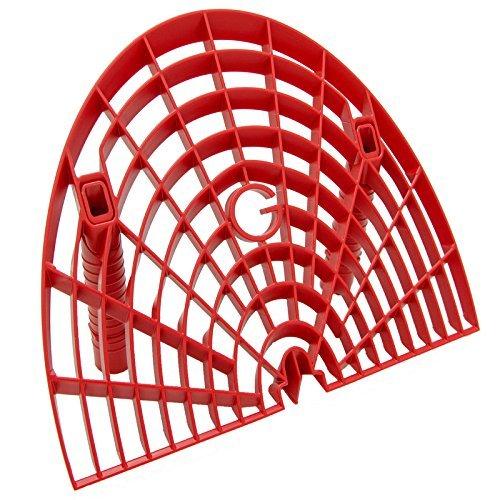 Preisvergleich Produktbild Körnung Guard ggwb-Red Waschbrett, Rot
